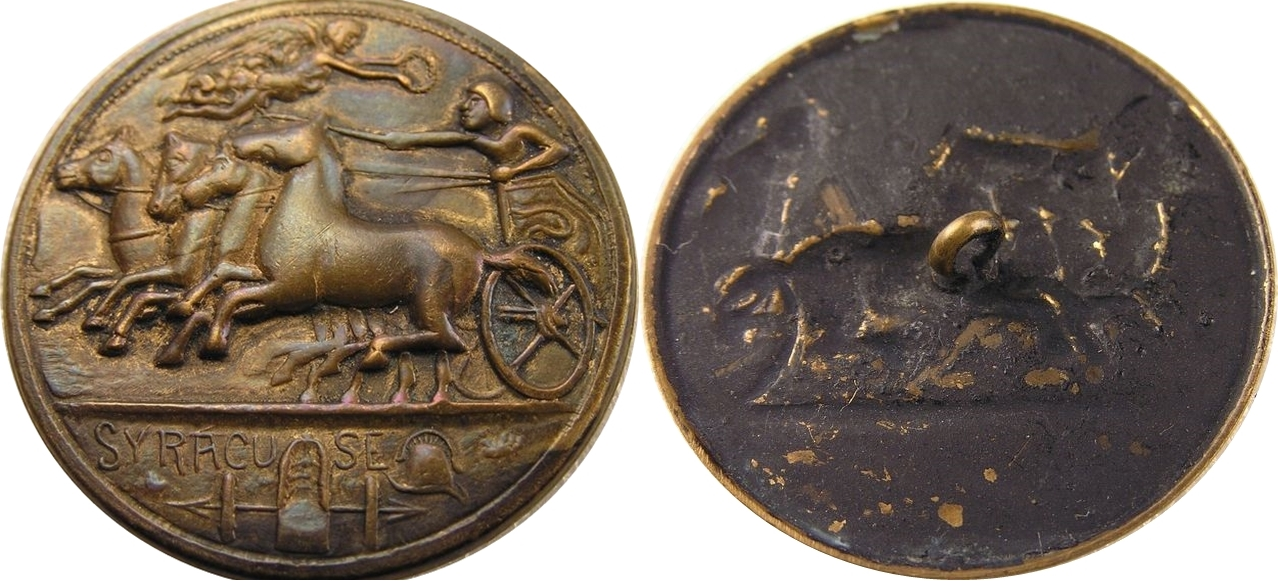 El botón contemporáneo: fantasía e imitación del antiguo sistema monetario romano. 2015