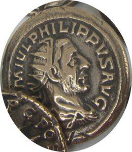 Marcvs Ivlivs Philippvs. Filipo I el árabe