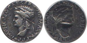 Nero Clavdivs Drvsvs Caesar Germanicvs. Nerón